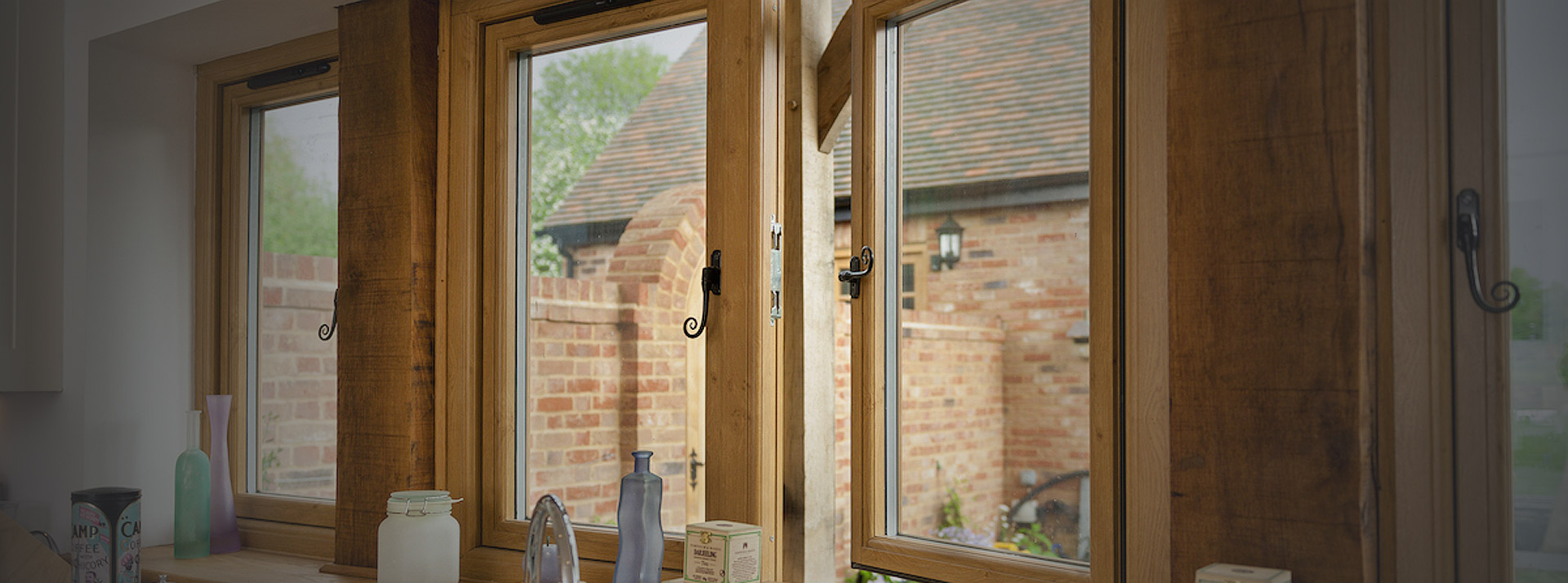 Residence 9 timber look uPVC windows