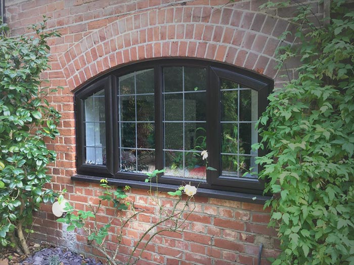 Curved bespoke windows