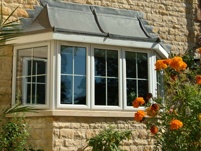 Double glazed casement windows