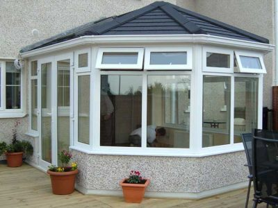 Replacement tiled conservatory roof