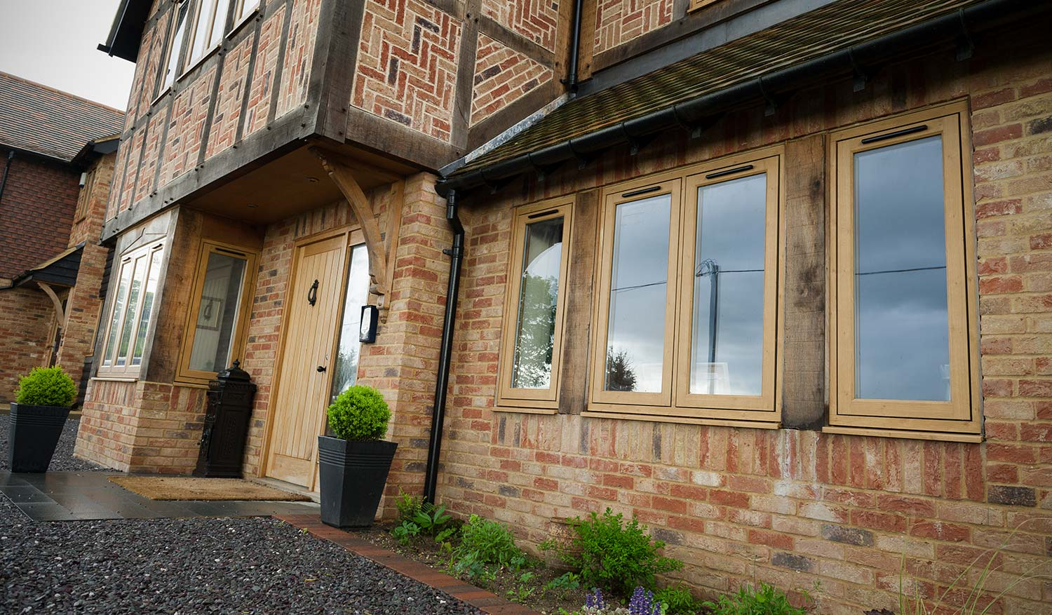 Timber effect uPVC windows - that look like traditional timber windows - heritage windows