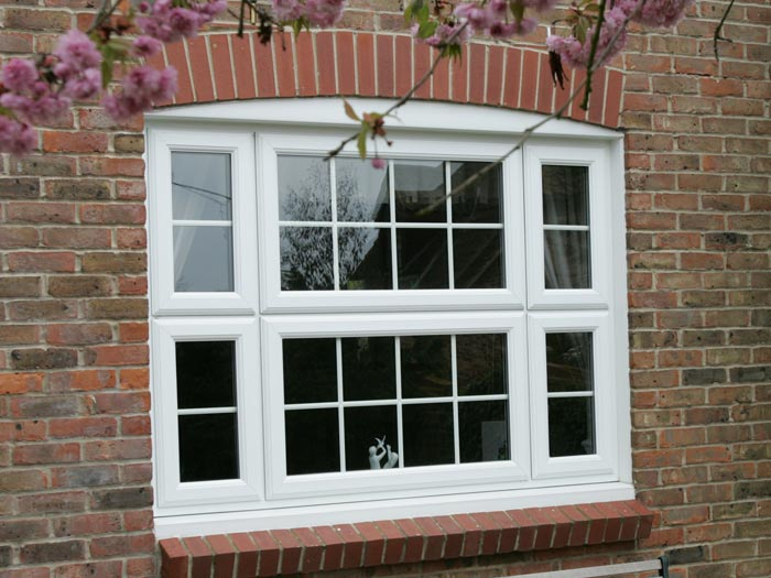 Georgian style uPVC windows