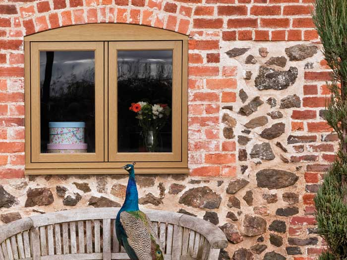 Timber effect windows for an authentic look-Residence