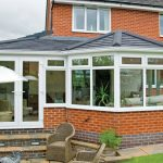 An installation where a tiled conservatory roof was fitted to an existing conservatory