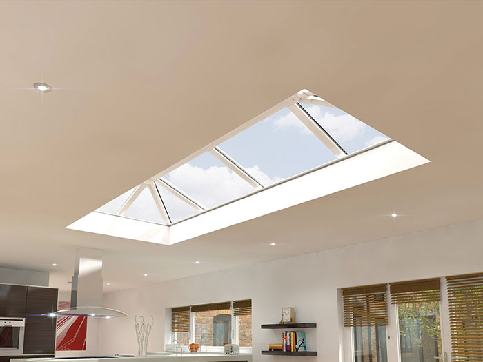 lantern roof- let the light in