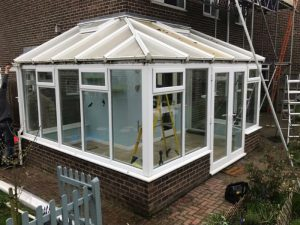 Conservatory before revamp