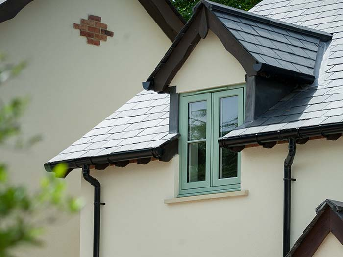 Chartwell green window installation for modern property