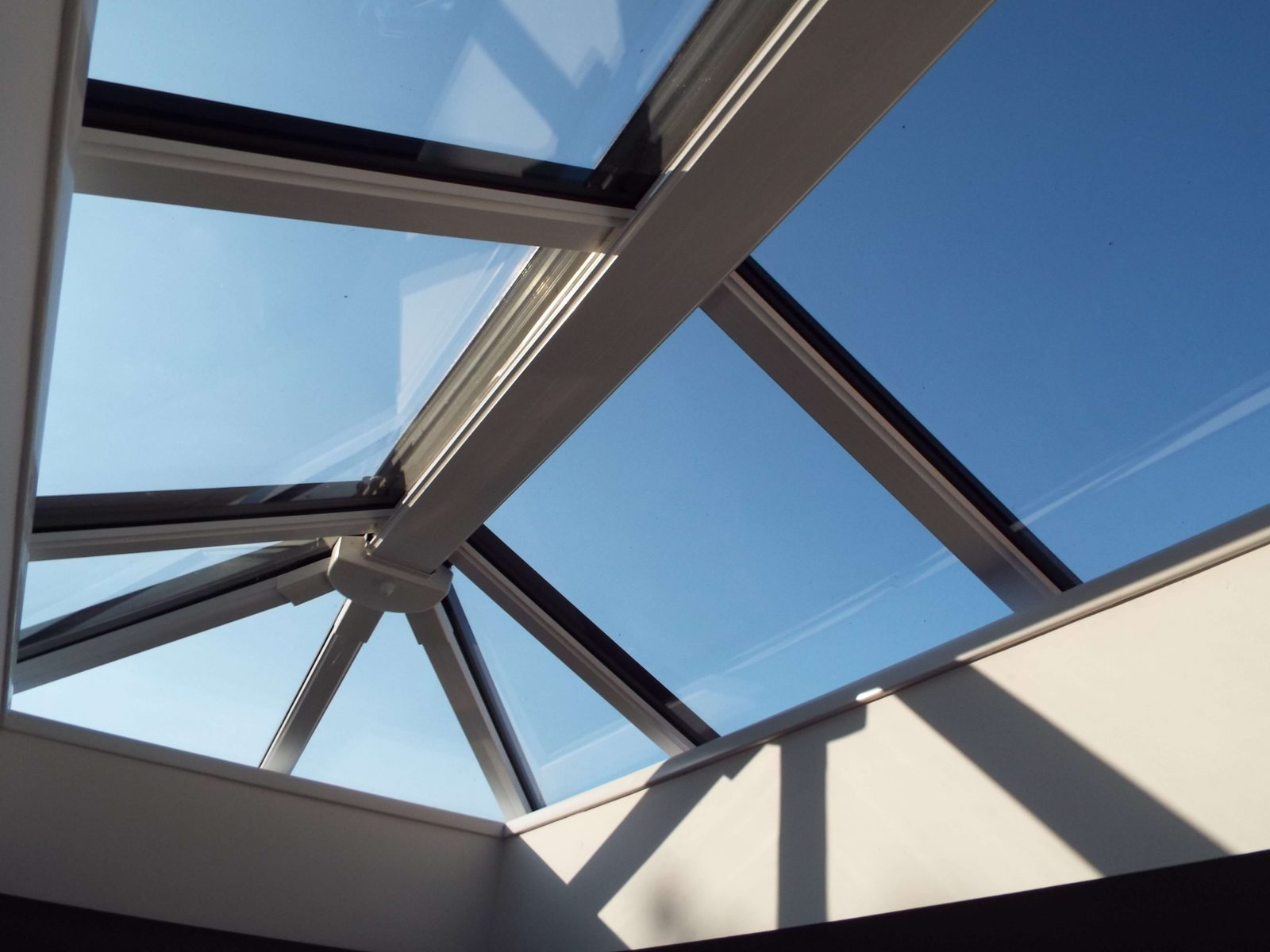 internal orangery roof
