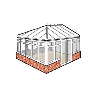 Conservatory style - Edwardian