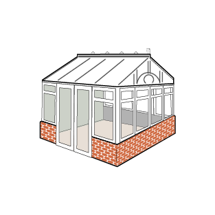 Conservatory style - Gable
