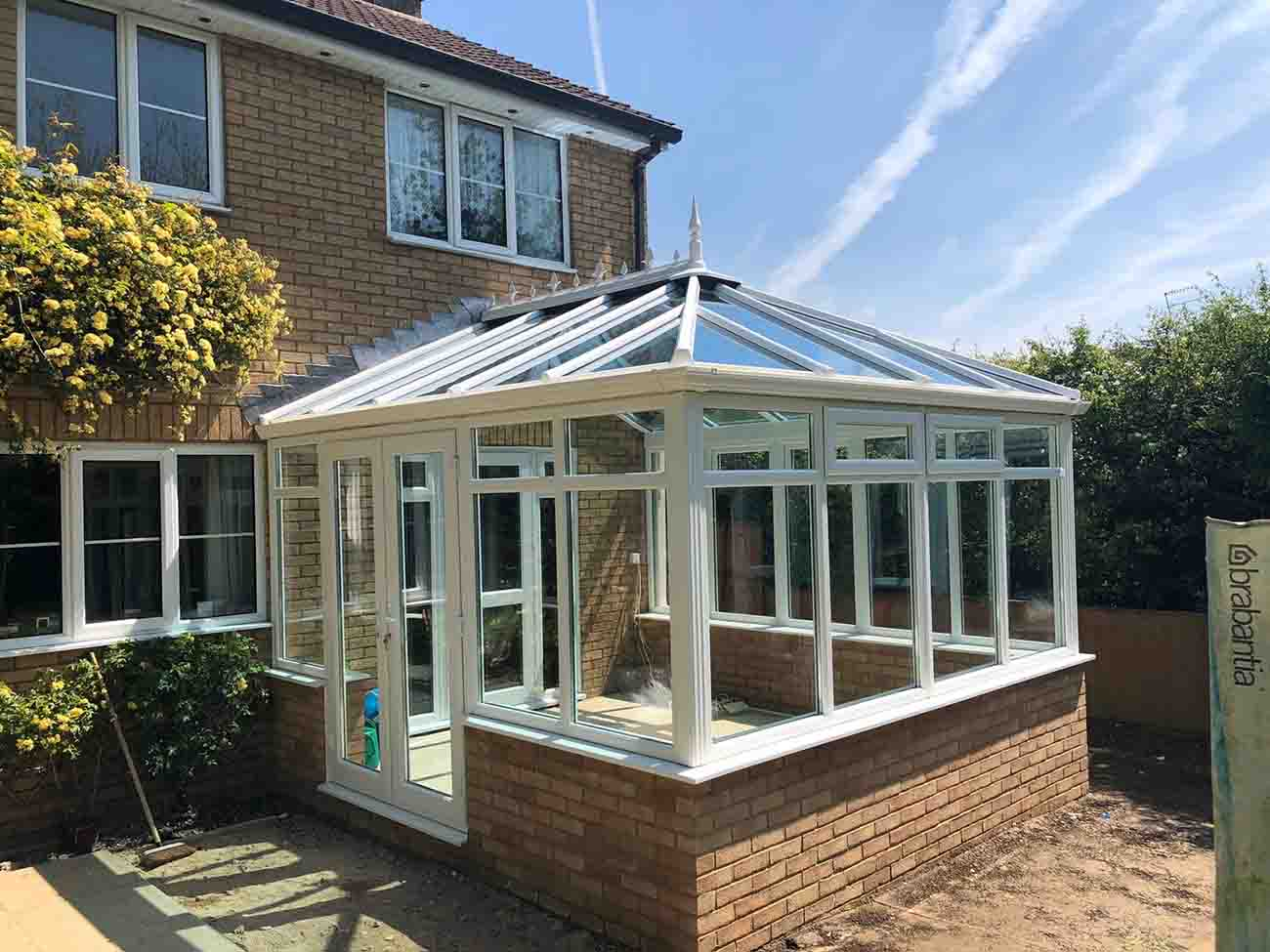 New conservatory roof replacement