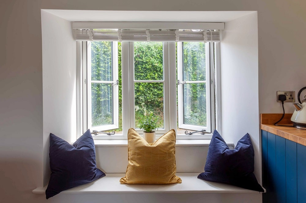 Inside view of Residence 9 Windows installed in heratage building in Swindon.